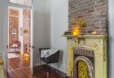 House Tour: A New Orleans Shotgun With Vintage Charm New Orleans Decor, New Orleans Homes, New Homes, Shotgun House Interior, Creole Cottage, Lake Cottage, Interior Decorating, Interior Design, House Tours