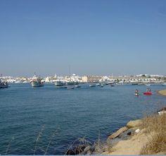 Playa de El Cantil. Isla Cristina (Huelva).