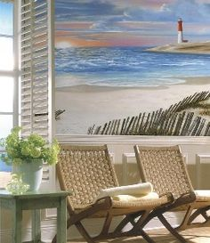 Cape cod style beach cottage on pinterest beach houses for Abri mural cape cod