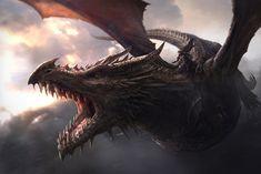 Aegon the Conqueror Riding Balerion the Black Dread - J. Gonzales