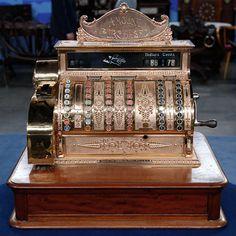 National Cash Register Brass Cash Register, ca. 1900  Appraised Value:  $6,000