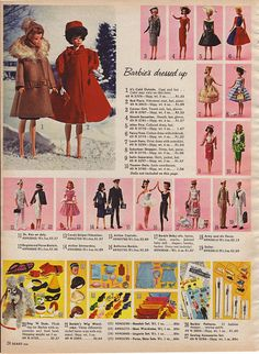 Sears 1964 Page 24 - Barbie Fashions | Flickr - Photo Sharing!