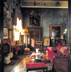 1000 images about dark interior on pinterest gothic for Gothic revival interior