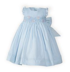 Sweet Floral  Newborn/Infant Girls' High-Waist Easter Dress