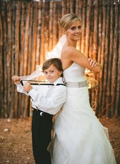 Have to do this picture with my ring bearer! He's such a little stud :)