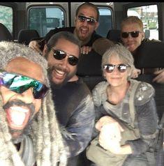 Walking Dead Tv Series, Walking Dead Funny, Fear The Walking Dead, Carl Grimes, Melissa Mcbride, Casting Pics, Stuff And Thangs, Family Album, Daryl Dixon