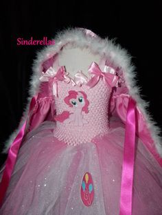 (15) My Little Pony with sparkle and hooded cape