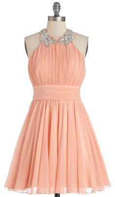 Peach Dress 19