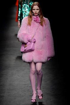 Le total look rose du défilé Gucci automne-hiver 2016-2017