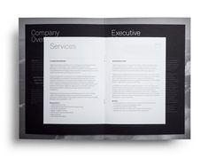 Brochure designed by Face for Saudi Arabian IT consultancy 7GigaCloud