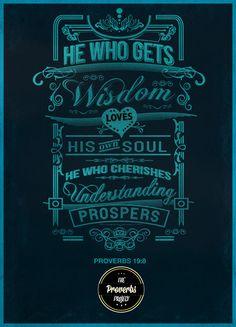Proverbs Typographic Project Michael Masinga | Abduzeedo Design Inspiration & Tutorials