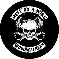 Woodwalker Car Decal