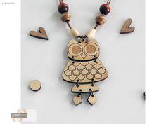 AHŞAP BAYAN KOLYE BAYAN BAYKUŞ - Bijuteri Kolye modelleri ve Bayan takı mücevher çeşitleri sahibinden.com'da - 167082003