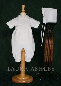 Boys Christening Coverall in Cotton