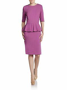 Lafayette 148 New York Dress - Radiant Orchid Pantone #coloroftheyear