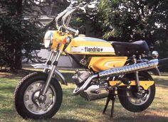 Cyclomoteur Flandria Trail 1974,