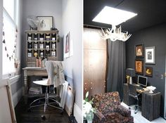 Small Space Contrasts: Light vs. Dark Walls | Apartment Therapy