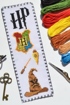 "Cross stitch bookmark kit ⚗️ ""Symbols School of Witchcraft and Wizardry"". Hogwarts School of Witchcraft and Wizardry, commonly shortened to Hogwarts, is a fictional British boarding school of magic for students aged eleven to eighteen. #gryffindorcrossstitchpattern #crossstitchpatternsgryffindor #gryffindorcrossstitchbookmark #harrypottercrossstitchgryffindor #gryffindorhousecrestcrossstitch #crossstitchpatternsgryffindor #gryffindorcrossstitch #crossstitchkit #harrypottercrossstitch #amazon"