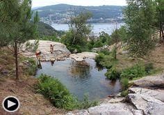 """""""A Poza da Moura"""": Un jacuzzi natural con vistas a la ría de Vigo - Faro de Vigo"""