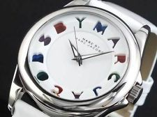*New* Marc Womens Jacobs Watch White Leather
