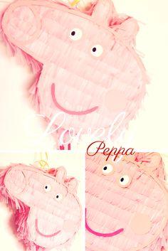 Piñata Peppa Pig  adorable! https://www.facebook.com/ppinatas