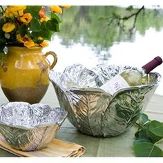 Garden - Cabbage Bowl  • gift for wine enthusiast by Beatriz Ball