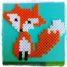 Fox hama beads by jootje31
