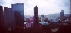 View from my room at Westin Guangzhou