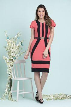 Vestido Eva - Bella Herança - Moda Evangélica e Roupa Evangélica: Bela Loba