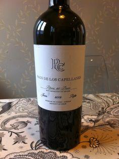 Mi Blog de Vinos: Pago de los Capellanes Joven Roble 2012