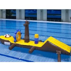 Popular inflatable water pool for adults, bouncy water slide