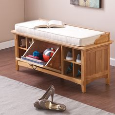 FREE SHIPPING! Shop Wayfair for Wildon Home ® Arianna Artisan Storage Entryway Bench - Great Deals on all Furniture products with the best selection to choose from!