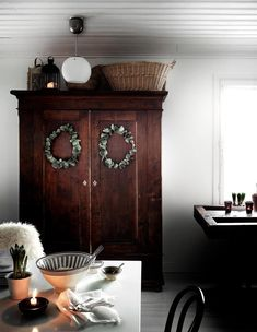 〚 Cozy holidays on a budget: Scandinavian cottage in Finland 〛 ◾ Photos ◾Ideas◾ Design Hygge, Scandinavian Cottage, Sweet Home, Cute Cottage, Shabby, B & B, Christmas Home, Finland, House Tours