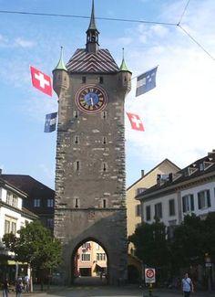 Stadttor von Baden im Aargau