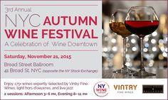 NYC Autumn Wine Festival - New York Wine Events | New York Wine Events