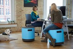 http://myturnstone.com/buoy/  Buoy Smart Chair Buoy Multifunctional Chair: Swivel, Tilt and Turn in the Office [Video]