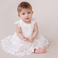 Baby baptism dress baptism gown baby christening dress