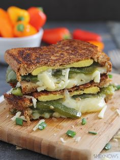 chili relleno grilled cheese sandwich | She Knows