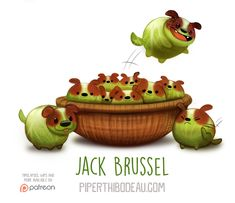 Daily Paint 1561. Jack Brussel by Cryptid-Creations.deviantart.com on @DeviantArt