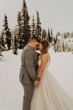 Morgan & Colton had a small simple ceremony in august but found themselves wanting wedding photos, so we did some bridal photos at Mount Rainier for them to have forever! Intimate Photography, Forest Wedding, Pacific Northwest, Mount Rainier, Wedding Photos, Romantic, Bridal, Couples, Simple
