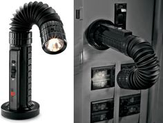 Flexible Magnetic Flashlight