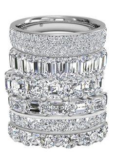 For Eternity. Ritani Diamond Wedding Bands.
