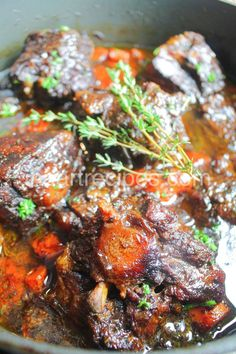 Stove Top Oxtail Recipe In 2020 With Images Oxtail Recipes Recipes Beef Casserole Recipes