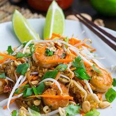 Spaghetti Squash Shrimp Pad Thai Recipe - ZipList
