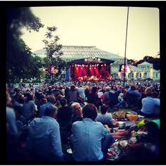 Pink Martini live in Kew Gardens