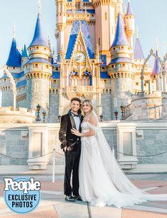 Jordan Fisher & Ellie Woods 21 November 2020 Ellie Woods, Gorgeous Wedding Dress, Dream Wedding, Disney World Wedding, Tiffany Wedding, Bridal Salon, Wedding In The Woods, Celebs, Celebrities