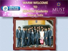 Students at MUST, Malaysia