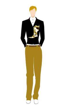 Batik in Man Suit by Farah Dina Hera #black #formal #batik #coffee