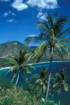 Senggigi, Lombok, Indonesia (island next to Bali)