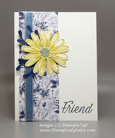Easily color coordinate a project by coloring white ribbon with markers. This is Stampin'Up!'s Silver Metallic Edge ribbon - so easy to work with. Ribbon Work, White Ribbon, Ribbon Colors, Ribbon Flower, Sunflower Cards, Ribbon Embroidery Tutorial, Friends Image, Fabric Roses, Blog Images
